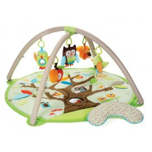 Skip Hop Kamarádi ze stromu - Deka hrací Barevná zvířátka