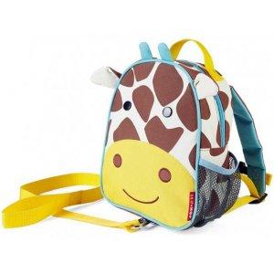 Skip Hop Zoo Batůžek s bezpečnostním vodítkem 1+ Žirafa