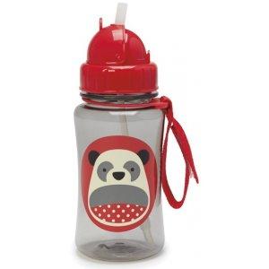 Skip Hop Zoo Lahvička s brčkem Panda