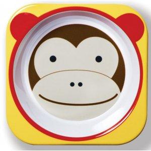 Skip Hop Zoo Miska melaminová 6m+ Opička