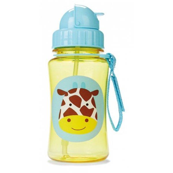 Skip Hop Zoo Hrnek s brčkem bez PVC a BPA 12m+ Žirafa