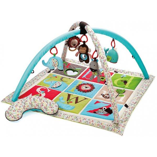 Skip Hop ABC Zoo - Deka hrací Béžová