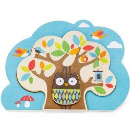 Skip Hop Puzzle Kamarádi ze stromu - dřevo