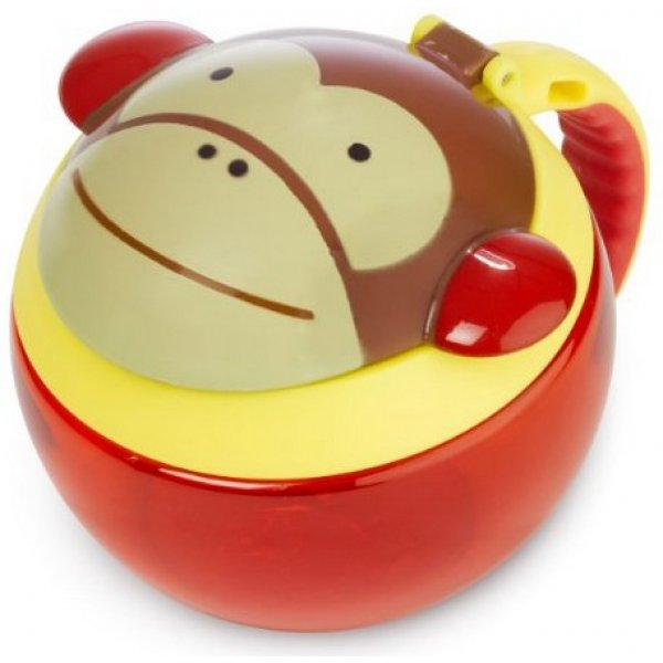 Skip Hop Zoo Nádoba na sušenky 12m+ Opička