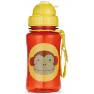 Skip Hop Zoo Hrnek s brčkem bez PVC a BPA 12m+ Opička