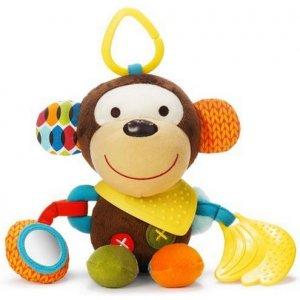 Skip Hop Hračka na C kroužku aktivní Bandana Buddies 0m+ Opička