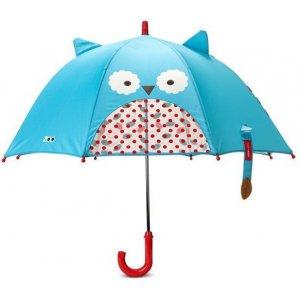 Skip Hop Zoo deštník s okénkem na výhled 3+ Sovička