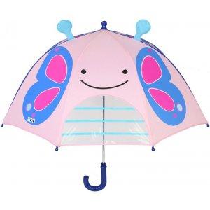 Skip Hop Zoo deštník s okénkem na výhled 3+ Motýl