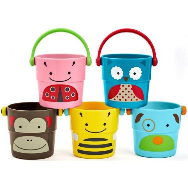 Skip Hop Zoo hračka do vody Sada kbelíků 9m+