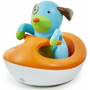Skip Hop Zoo Pejsek na vodním skútru Modrá