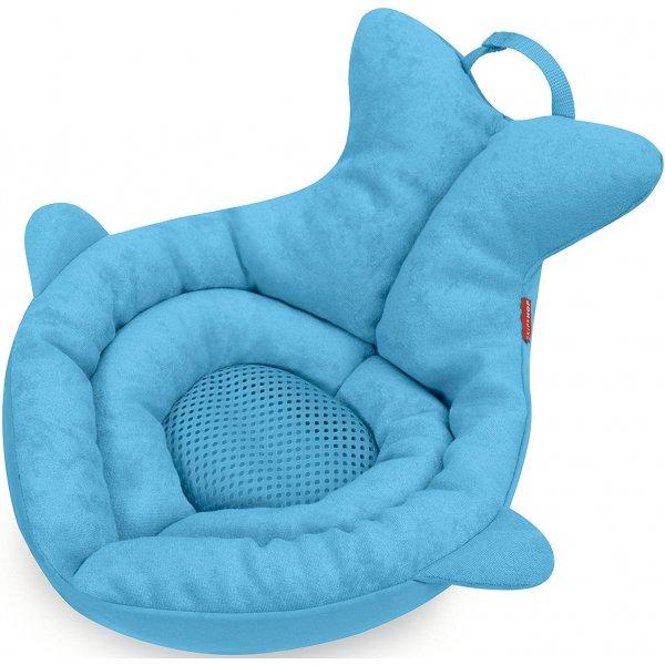 Skip Hop Podložka do koupele froté Moby 0-6m Modrá
