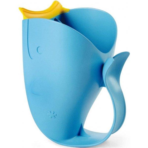Skip Hop Hrnek na oplachování šampónu Moby Modrá