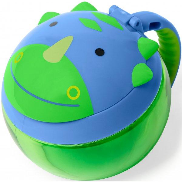 Skip Hop Zoo Kalíšek na sušenky - Dino 12m+ Zelená