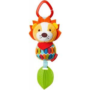 Skip Hop Hračka na C kroužku Bandana Buddies - Malý lev 0m+ Oranžová