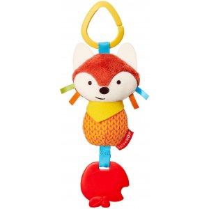 Skip Hop Hračka na C kroužku Bandana Buddies - Malá liška 0m+ Oranžová