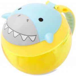Skip Hop Zoo Nádoba na sušenky Žralok 12m+